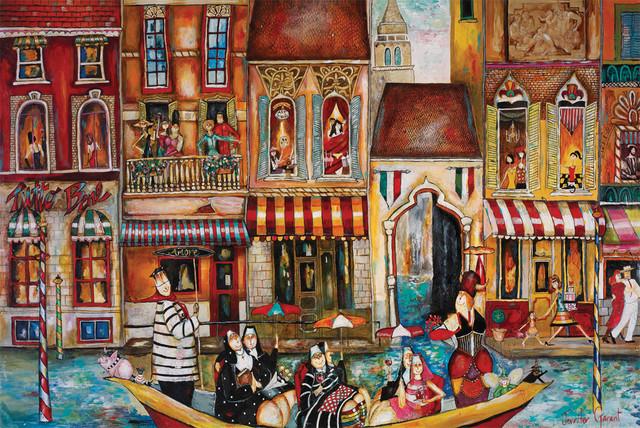 Bad Habits in Venice mediterranean-artwork