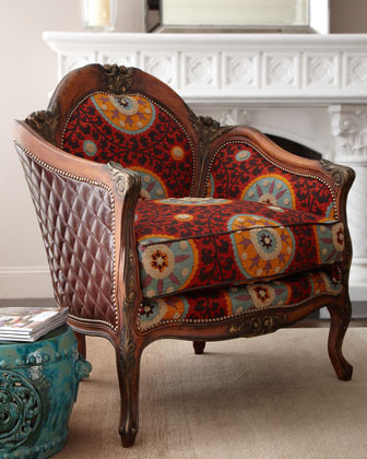 """Suzanni"" Chair traditional-armchairs-and-accent-chairs"