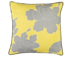 DwellStudio for Target Peony Decorative Pillow contemporary pillows