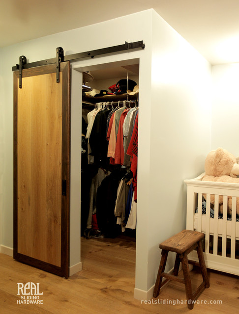 Custom closet barn doors for Custom closet doors los angeles