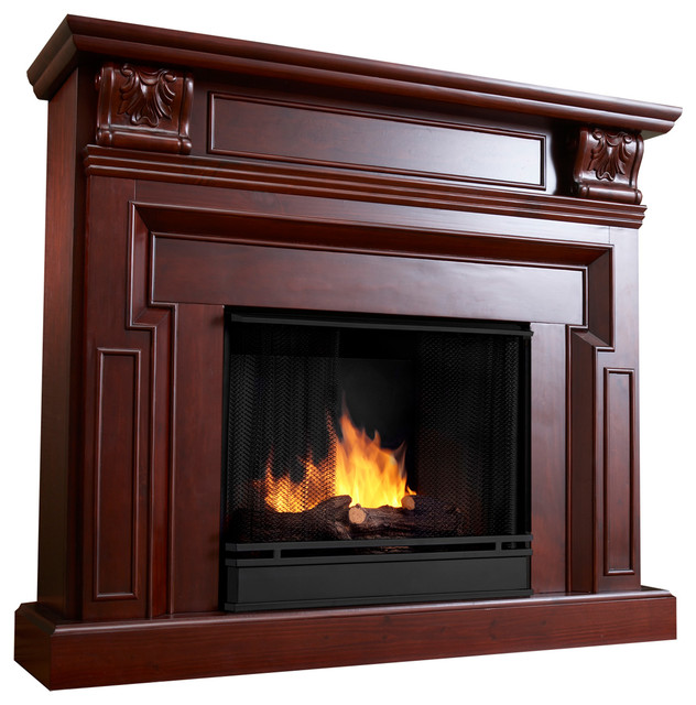 39 real flame 39 kristine ventless fireplace contemporary for Ventless fireplace modern