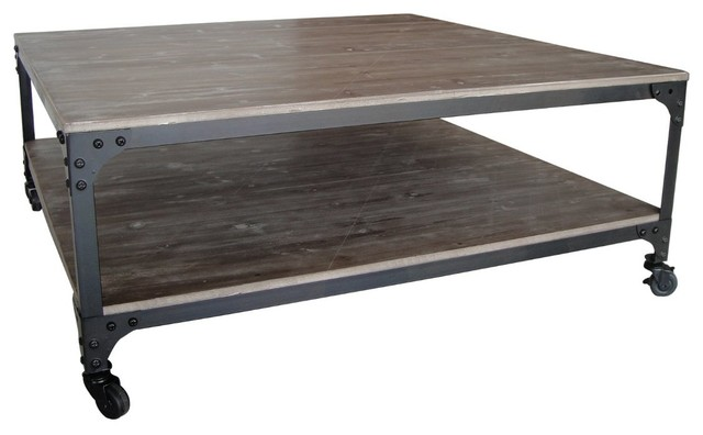 Industrial Coffee Table Rustic Coffee Tables By Screen Gems Furniture Accessories
