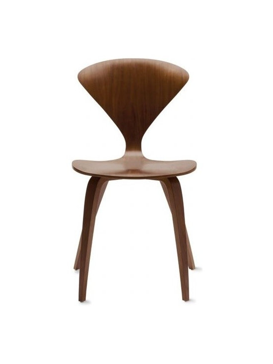 Cherner Chair Company - Cherner Side Chair | DWR - Norman Cherner first designed his iconic chair in 1958. A bunch of drama, thieving and suing happened, and eventually production of the chair was scrapped. Luckily, Norman's sons have put the chair back into production, and design fans are snapping it up as quickly as they can.