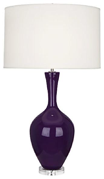 Robert Abbey Audrey Table Lamp Amethyst Lighting modern-table-lamps