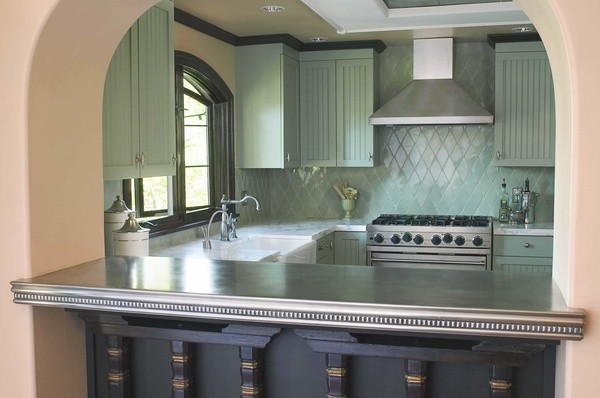 Lavin Pewter Countertop - Francois & Co kitchen-countertops