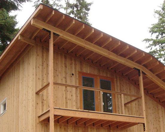 Apex Construction Select Tight Knot Cedar Island House -
