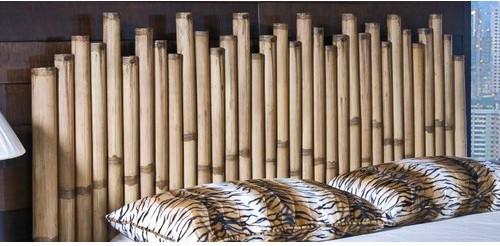 Havana Bamboo Panel Headboard modern-hardwood-flooring
