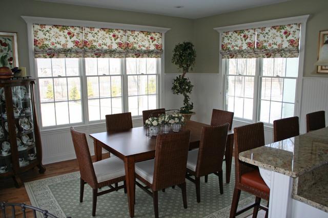 Window treatments for Modern dining room window treatments