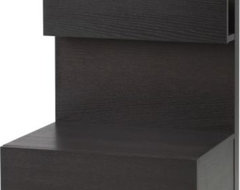 IKEA MALM Bedside table, black-brown modern-nightstands-and-bedside-tables