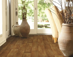 Charter Tawny Oak vinyl sheet flooring from Shaw traditional vinyl flooring