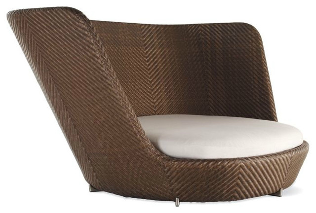 Scoop Nest Chair Contemporary Outdoor Lounge Chairs