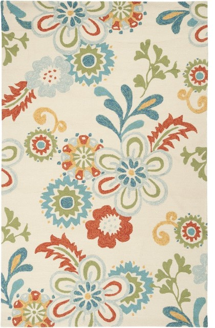 Storm Hand Hooked Rug contemporary-rugs