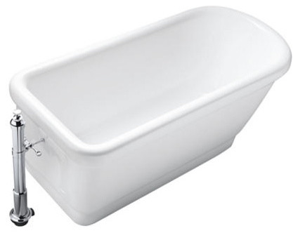 Kallista: For Town Bathtub by Michael S Smith traditional-bathtubs
