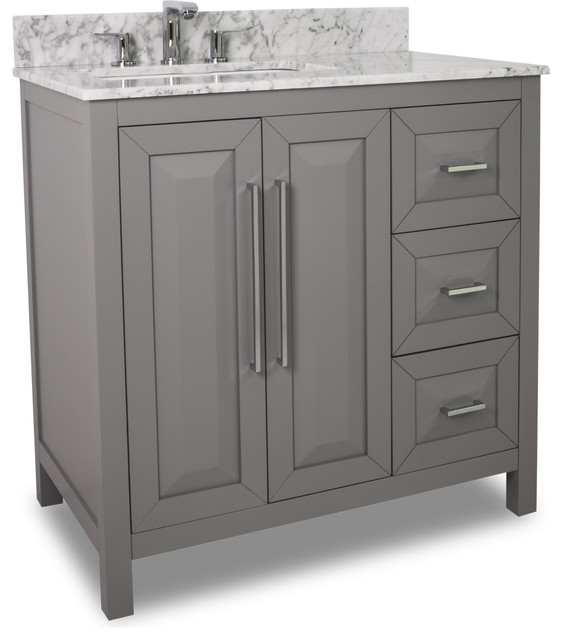 Lyn Design VAN100 36 T 36 Vanity Contemporary Bathroom Vanities And