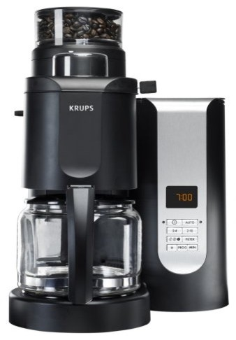 Krups KM700A Grind and Brew Coffee Maker contemporary-coffee-and-tea-makers