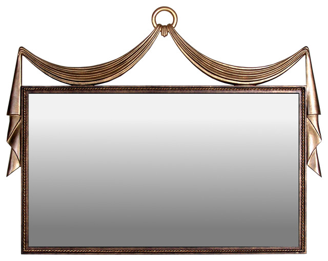 Palace mirror horizontal eclectic mirrors houston