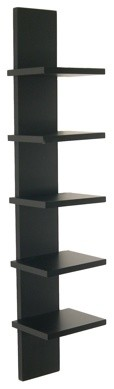 Utility Column Spine Wall Shelf contemporary-display-and-wall-shelves
