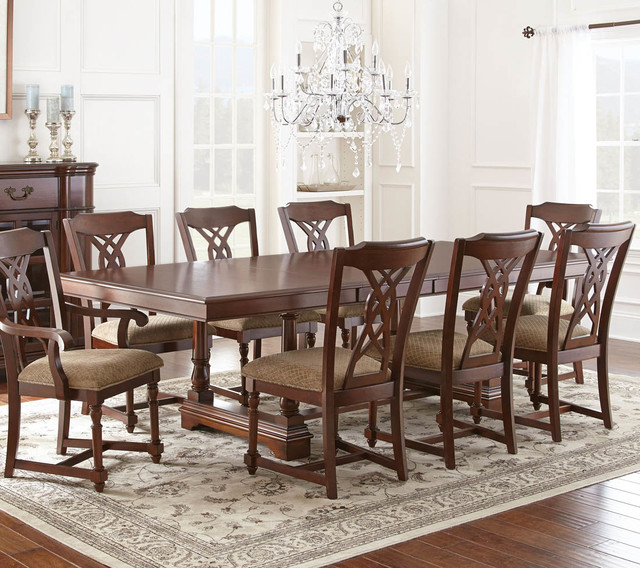 """Archer Table with Two 18"""" Leaves modern-dining-tables"""
