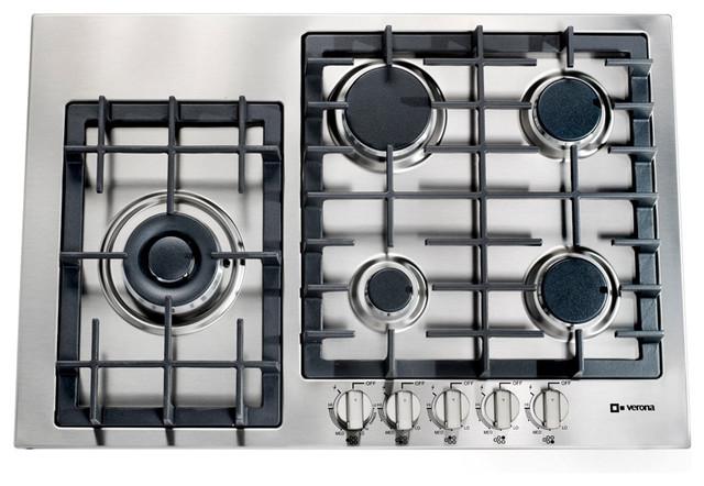 Verona 30-inch Designer Series Gas Cooktop transitional-cooktops