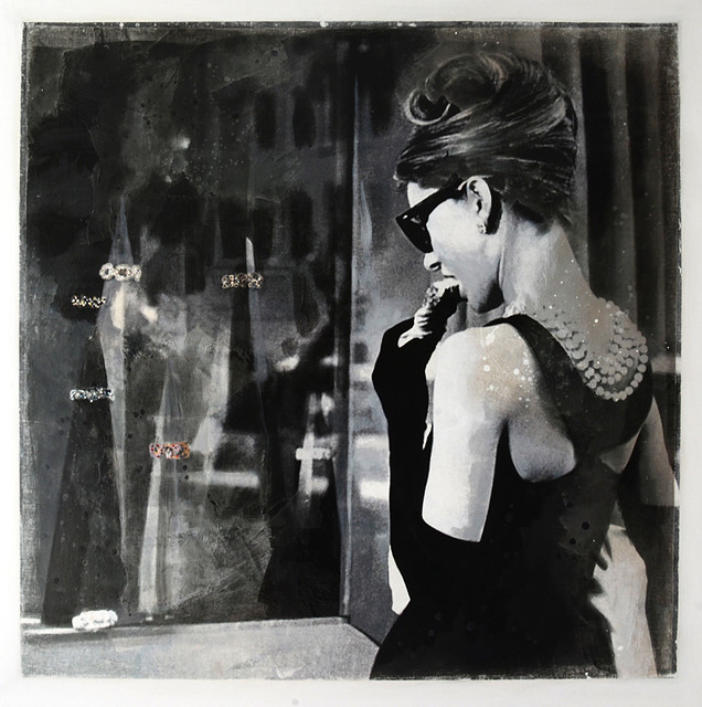 Breakfast at Tiffanys contemporary artwork