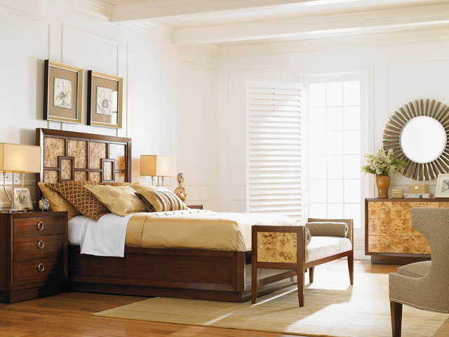 Lexington Furniture Mirage Bedroom Collection Contemporary Bedroom