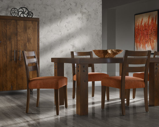LOFT Collection by Canadel - Rectangular table: TRE 0-3860-19NAR-PK-NF