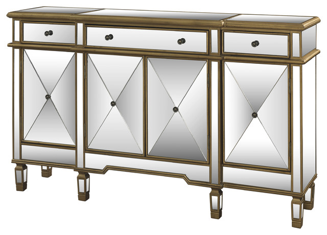 ... Console - Contemporary - Accent Chests And Cabinets - by Overstock.com