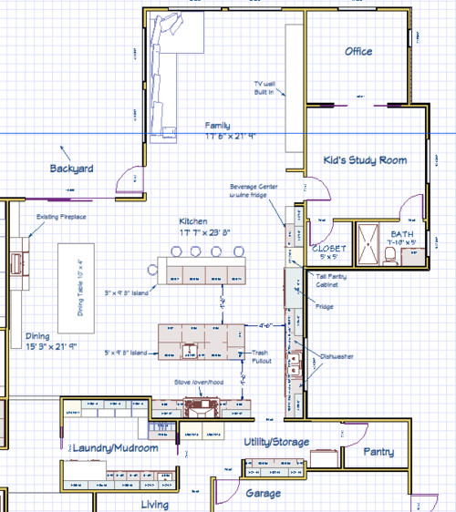 Kitchen Layouts With Island Pictures: Need Help With Kitchen Island Layout. Double Island?? Bad