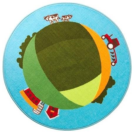 LEKFULL LAND Rug modern-kids-rugs