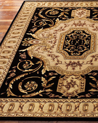 """Empire Scrolls Runner, 2'3"""" x 8' traditional-rugs"""