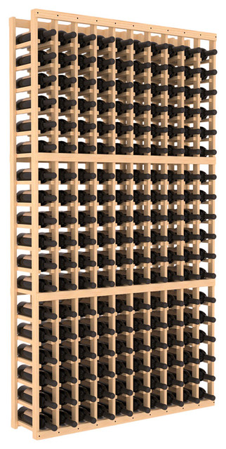 10 Column Standard Wine Cellar Kit in Pine contemporary-wine-racks
