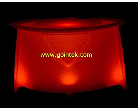 led color changing light table -