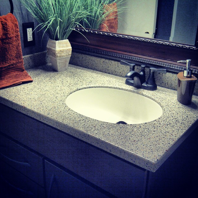 Bathroom Countertop Surface Options : All Products / Bath / Bathroom Countertops