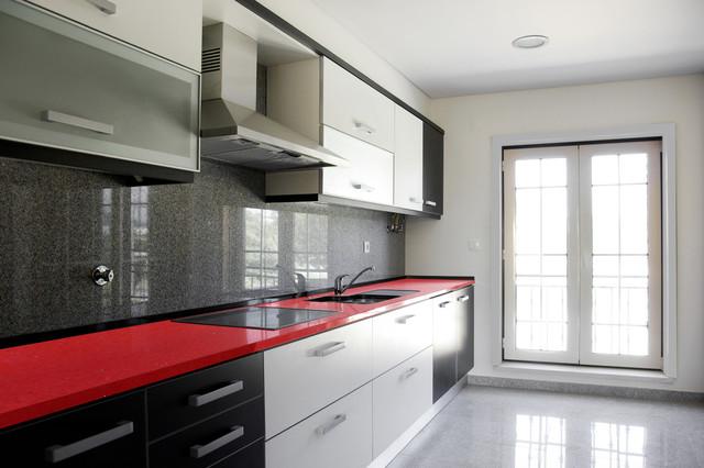 Sparkling Ruby Kitchen Countertops