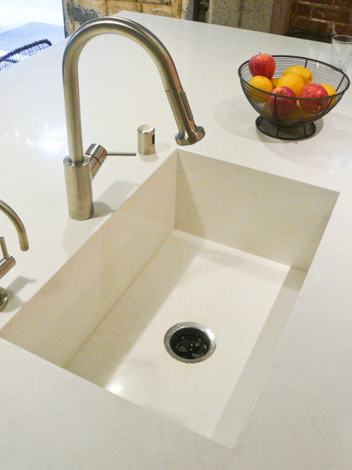 Integrated Kitchen Sink : Contemporary Kitchen by Sausalito Kitchen & Bath Designers AlterECO ...