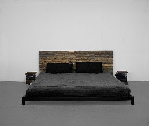 Street Wood Bed by Uhuru contemporary beds
