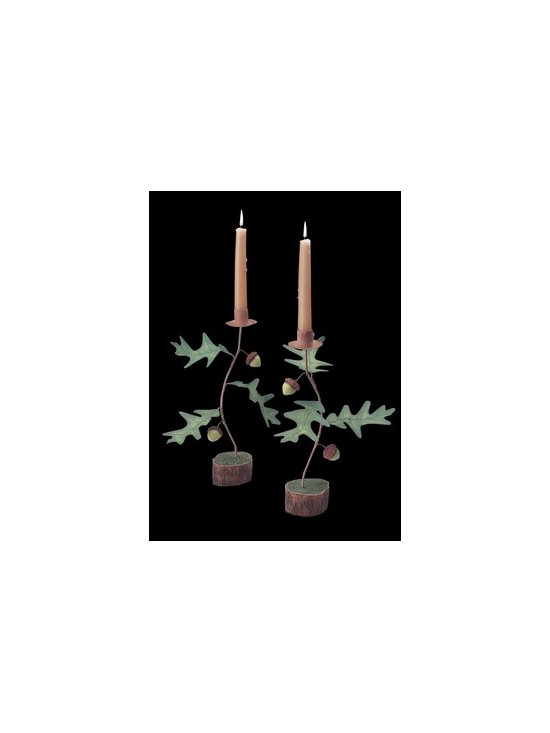 Decorative Acorn Candle Holder - Candle Holders are a nice touch for any room. Purchase your Candle Holders here today.