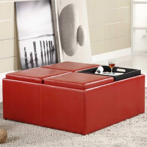 Memohavy large serving tray for ottoman