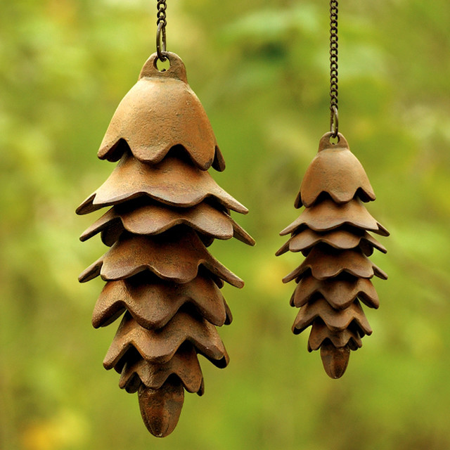 Pinecone Wind Chime - Eclectic - Wind Chimes - atlanta ...