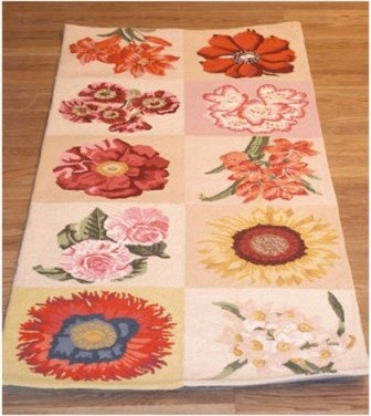 Safavieh Chelsea HK235A Area Rug - Ivory modern-rugs