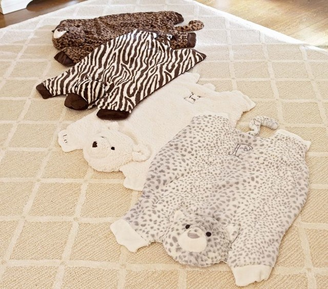 Animal Print Play Mats Contemporary Kids Rugs By