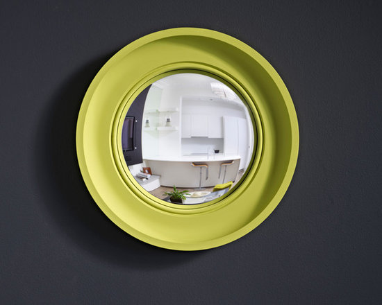 Cavetto Brights in pale lime - Our new 'Brights' range launched for spring 2012 - inject some high voltage colour into your interior!