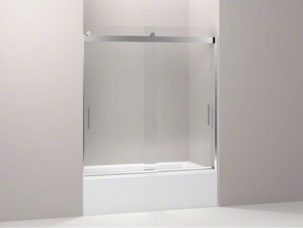 KOHLER Levity(R) front sliding glass panel for shower door K-706003 contemporary-showers