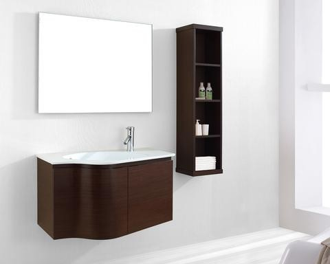 Wall Mounted Vanities bathroom-vanities-and-sink-consoles