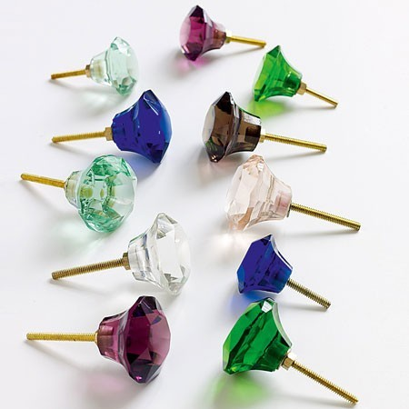 Glass Door Knobs - Traditional - Cabinet And Drawer Knobs - by Graham and Green