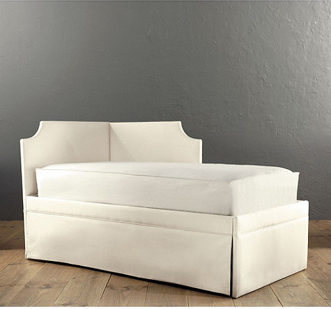 Isabella Left Corner Daybed with Trundle - traditional - day beds