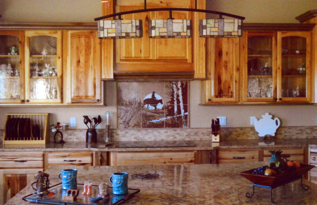 rustic kitchen design ideas on rustic log home kitchens backsplash