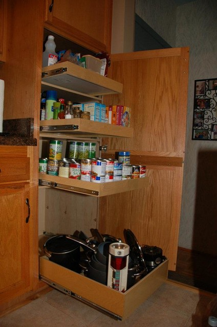 Kitchen Pull Out Shelves kitchen-drawer-organizers