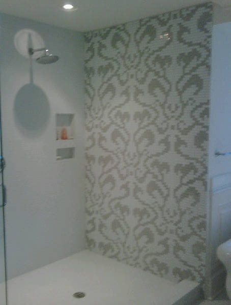 Custom Glass Mosaic Feature Wall