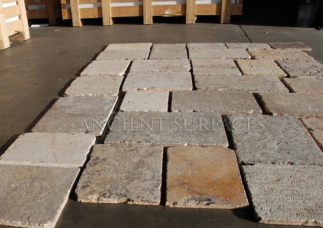 Antique Biblical Stone mediterranean-flooring